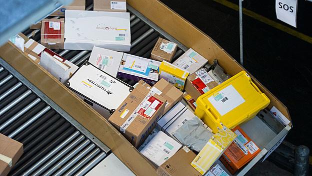 Die Post setzt auf das Geschäft mit Paketen und investiert auch im Verteilzentrum Härkingen.
