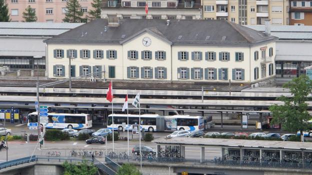 55 Millionen Franken gibt es vom Bund – unter anderem für den Bahnhofplatz Olten