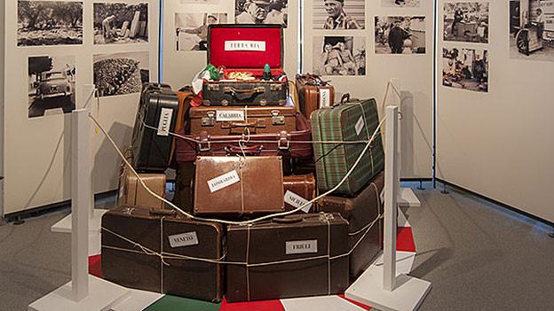 Die Ausstellung im Chornhuus Gränichen blickt auf die Geschichte der italienischen Saisoniers.