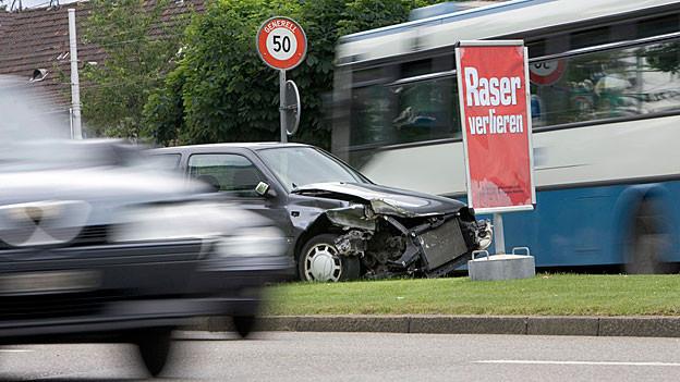 Die Aargauer Staatsanwaltschaft fordert 20 Monate Freiheitsstrafe bedingt für einen deutschen Raser.