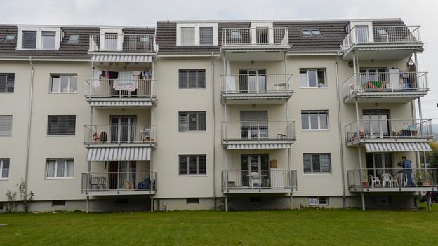 Die Aargauer Behörden sind zufrieden mit der Asylbewerberunterkunft Aarburg