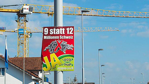 Die SVP des Kantons Aargau ist sich mit der Mutterpartei in Sachen Ecopop-Initiative nicht einig.