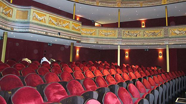 Der neue Theatersaal in Solothurn.