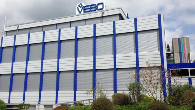 Das Gebäude der Vebo in Zuchwil.