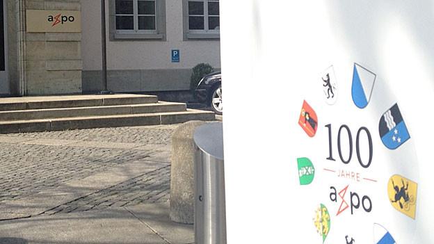 Hauptsitz der Axpo in Baden.