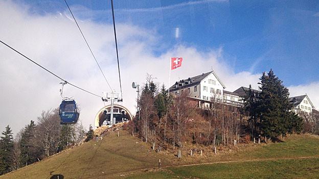 Die neue Gondelbahn auf den Weissenstein ist offiziell eröffnet.