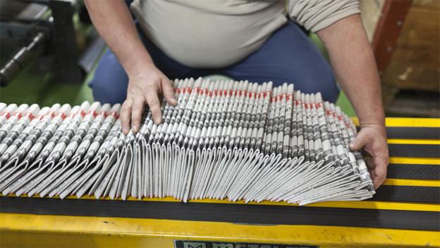 Aarau ist der neue Arbeitsort der Druckerei-Mitarbeitenden.