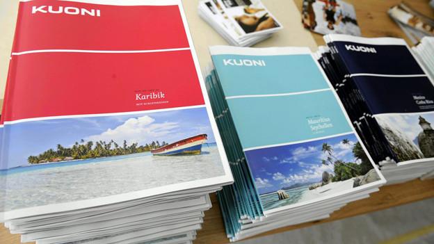 Kuoni-Reisekataloge