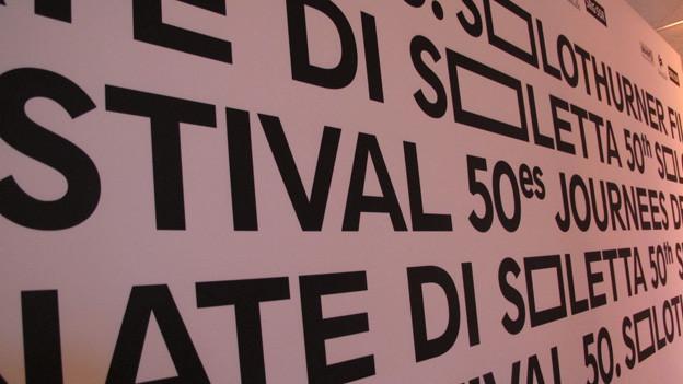 «Die Solothurner Filmtage haben Solothurn bekannt gemacht».