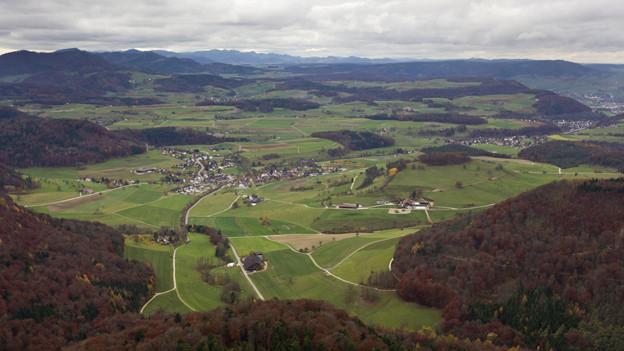 Bözberg: Gemäss Nagra einer von zwei möglichen Standorten für ein Tiefenlager.