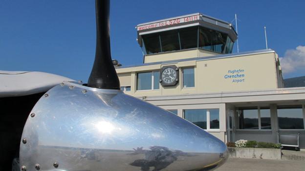 Mit der Pistenverlängerung möchte der Flugplatz Grenchen die Geschäftsfliegerei stärken.