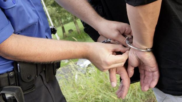 Die Polizei hat sieben mutmassliche Schläger vorübergehen verhaftet. Nun fahndet sie nach weiteren Personen.