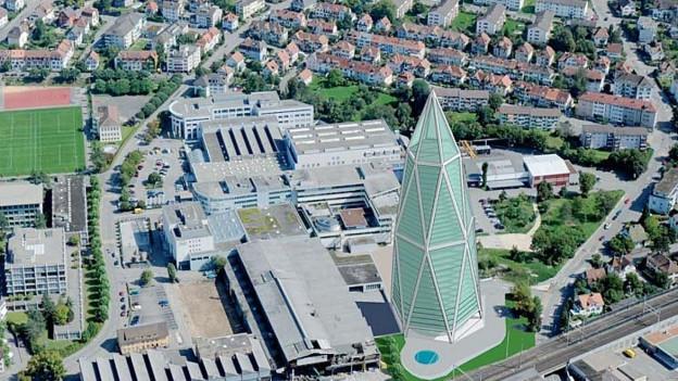 Ein über 100 Meter hoher Turm von Olten? Das Projekt ist gestorben. Nun folgt ein verdichtet gebautes Quartier.