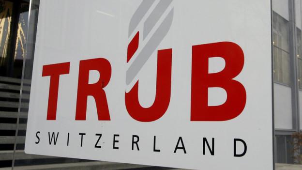 Firmensitz der Druckerei Trüb AG in Aarau: Die Firma wird holländisch.