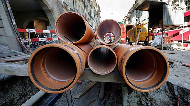 Rohr-Brüche wegen alter Wasserleitungen