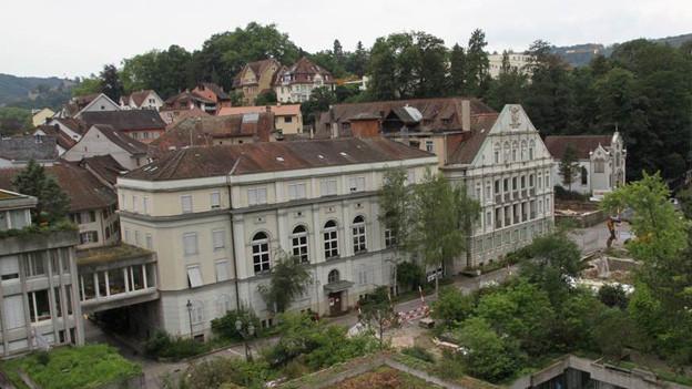 Baden will seine 2000 Jahre alte Bäder-Tradition vermarkten - im Bild der Verenahof.