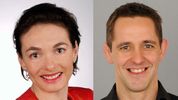 Marianne Binder-Keller (57) und Ralf Bucher (37) sollen für die CVP Aargau Stimmen holen.