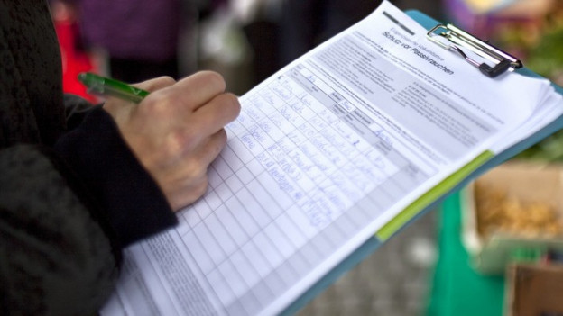 Initiative Unterschriftensammlung