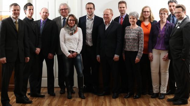 Die BDP Aargau tritt mit 16 Kandidaten für die Nationalratswahlen an. Sie will ihren Sitz halten.