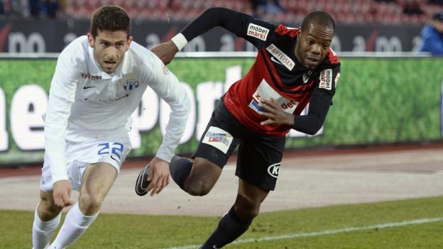 Kämpfen und mutig spielen, das sei der Schlüssel zum Erfolg, sagt FC-Aarau-Trainer Sven Christ im Interview mit SRF.