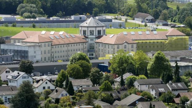 Das Zentralgefängnis Lenzburg wird ausgebaut, für total 25 Millionen Franken.