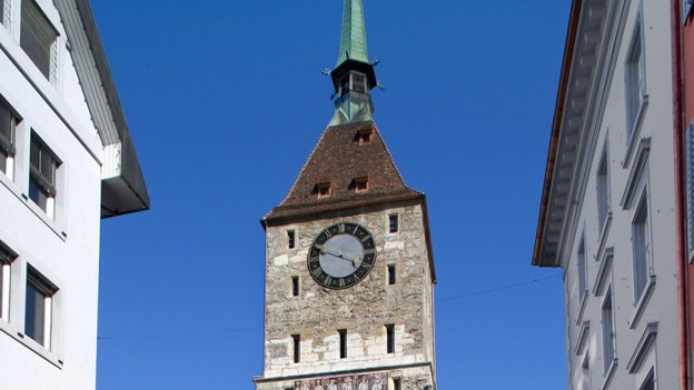 Seit 15'000 Tagen ist Hubert Schäpper Glöckner im Aarauer Oberturm.