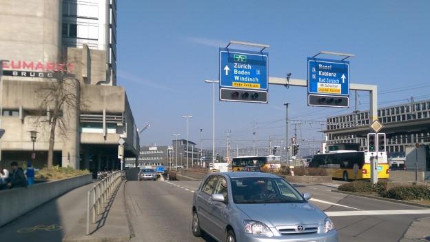 Die Stadt Brugg soll vom zunehmenden Durchgangsverkehr entlastet werden.