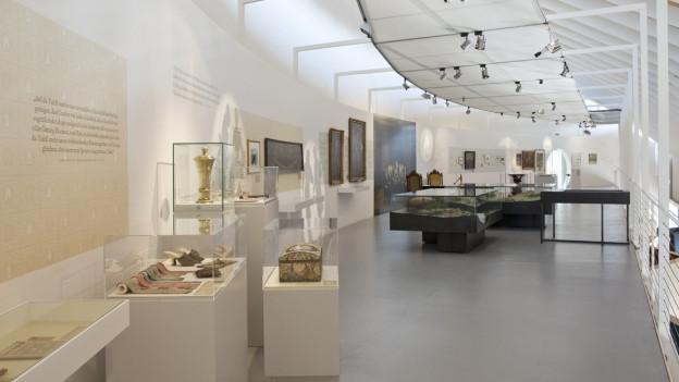 Museum Baden, Sonderausstellung «Frieden verhandeln». In diesen Räumen entsteht jetzt die neue Dauerausstellung.