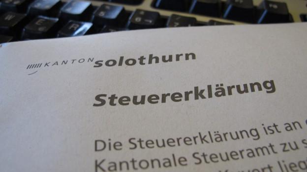 Die GPK des Solothurner Kantonsrats schaltet sich ein im Fall rund um die Vergabepraxis des Finanzdepartementes.