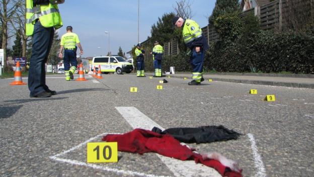 Am Dienstag wurde die 79-jährige Frau in Zofingen angefahren und mitgeschleift. Am Donnerstag wurde der Fahrer ermittelt.