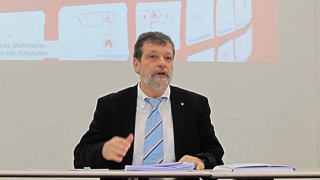 Der Solothurner Finanzdirektor Roland Heim