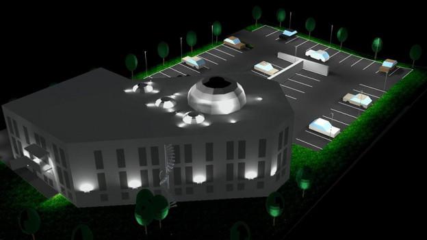So könnte die Moschee in Grenchen gemäss aktuellen Plänen dereinst aussehen.