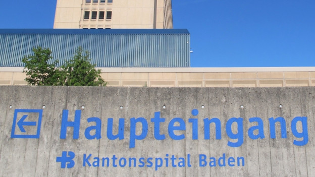 Hauptgebäude Kantonsspital Aarau