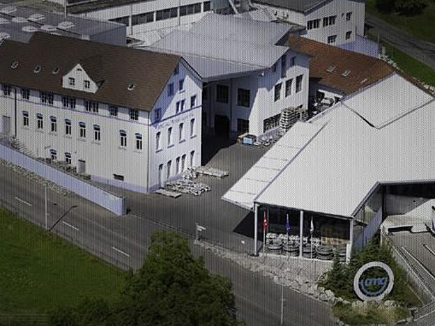 Das Firmengelände in Gontenschwil.