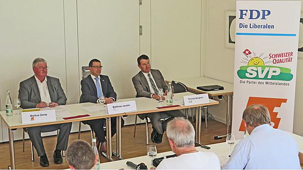 Aargauer SVP, FDP und CVP beschliessen Listenverbindung