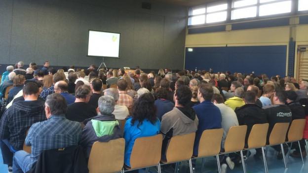 Aussergewöhnlich gut besucht: 190 Stimmberechtigte nahmen in Lüsslingen-Nennigkofen an der Gemeindeversammlung teil.