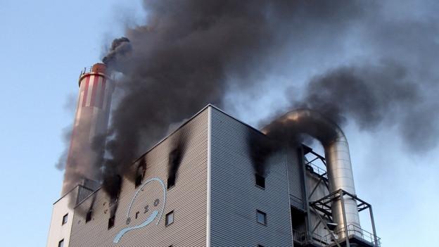 Technischer Defekt als Brandursache bei KVA Oftringen