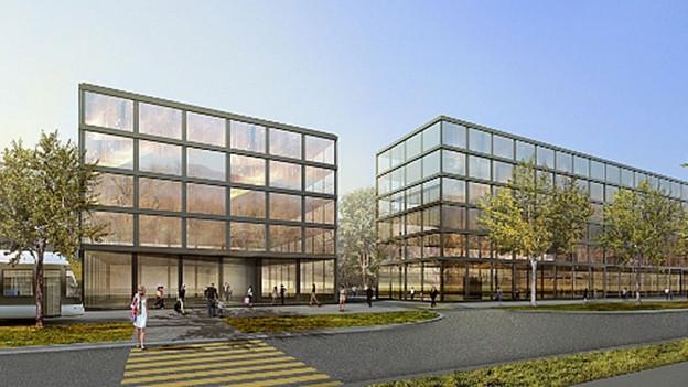 So soll sich ab 2016 das neue Hilton Hotel in Spreitenbach präsentieren.
