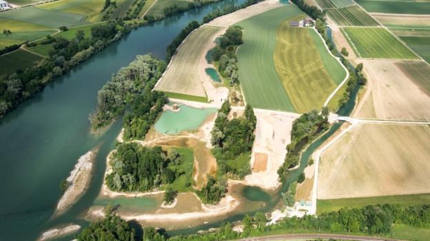 Ein Jahr lang wurde gebaut, nun ist der Auenschutzpark Rietheim fertig. Damit ist der Auenschutzpark Aargau nach 20 Jahren praktisch fertig gebaut.