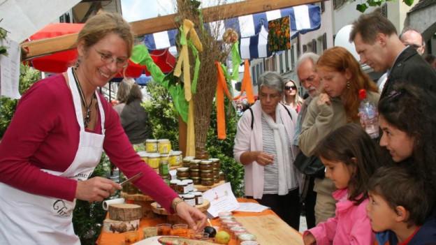 Der Bio Marché lockt jedes Jahr um die 40'000 Besucher nach Zofingen.