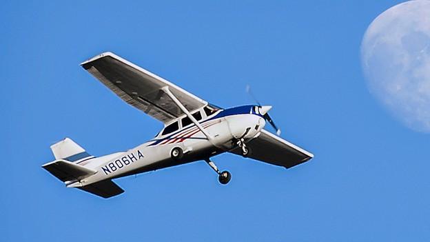 Kleinflugzeuge müssen die Lufträume respektieren.