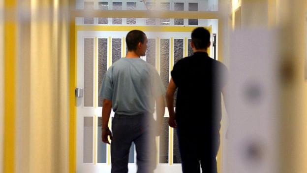 Zwei Männer flohen aus einer geschlossenen Abteilung in Königsfelden. (Symbolbild)