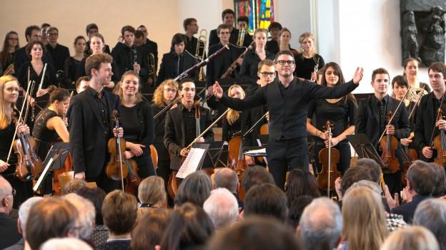 Am Sonntag konzertiert das Jugend-Sinfonieorchester Aargau in Boswil.