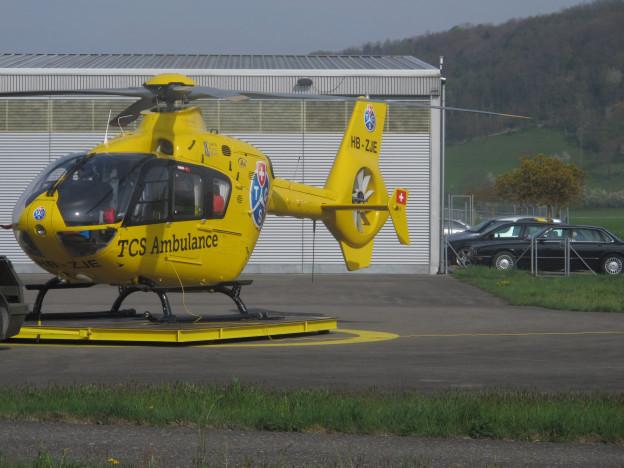 Rettungshelikopter TCS