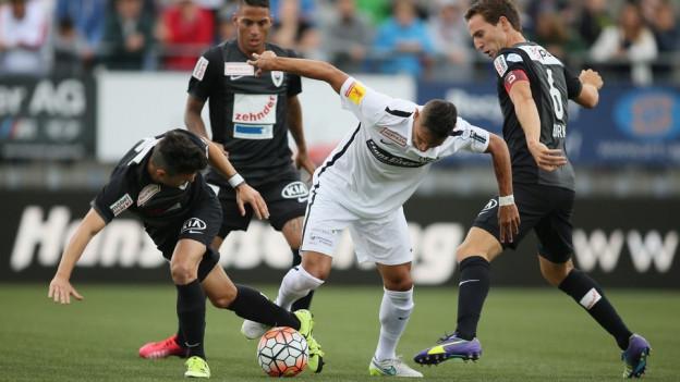 Nach dem Unentschieden gegen Wil (Bild) gelingt dem FC Aarau im Cup ein Sieg.