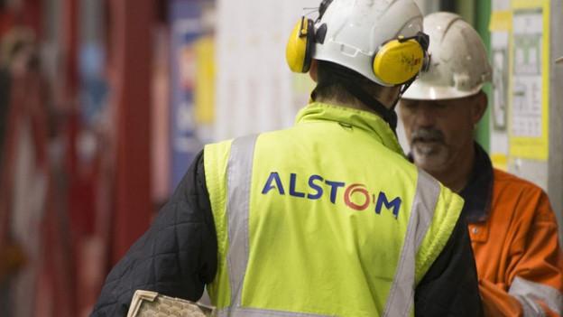 Viele Alstom-Mitarbeiter haben eine etwas ungewisse Zukunft vor sich: Für wen arbeiten sie künftig?