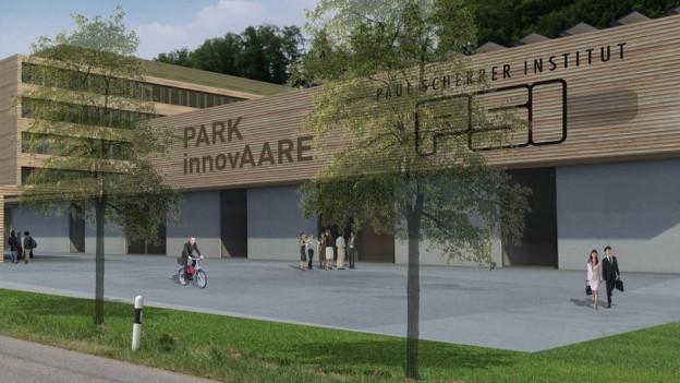 Der Aargauer Innovationspark heisst «innovAARE». Er wird beim PSI in Villigen gebaut.