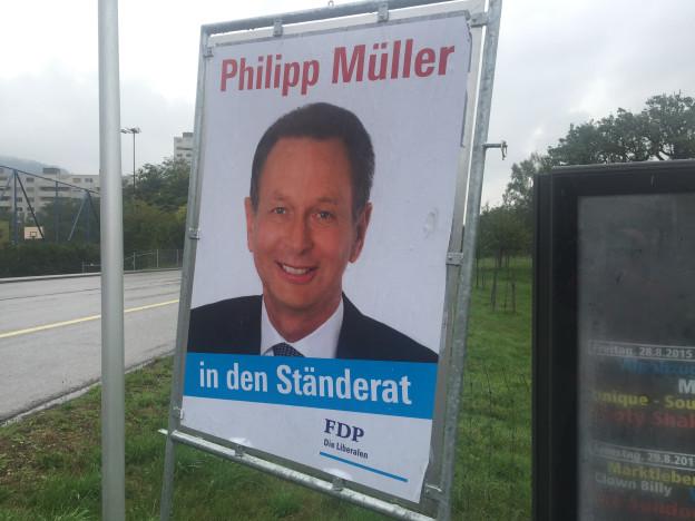 Wahlplakat Philipp Mueller