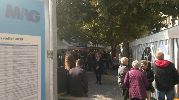 Rund 30'000 Personen dürften an die Mag in Aarau besucht haben