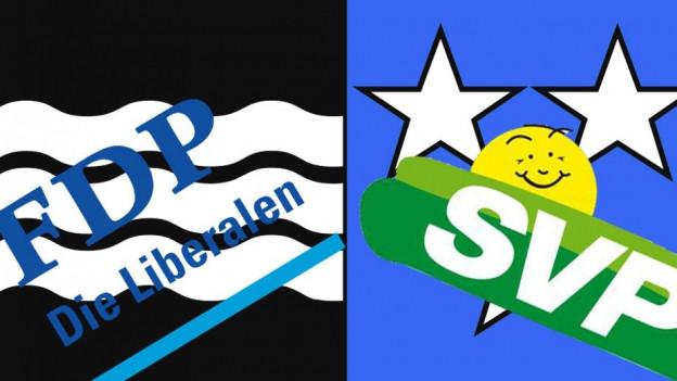 Kurz vor den Wahlen entbrennt zwischen Aargauer FDP und SVP ein Zwist um die Ständeratskandidaten.